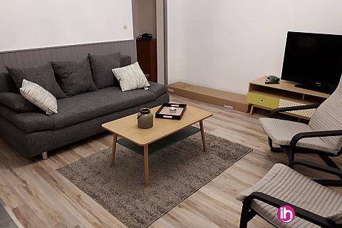 Location pour salarié en déplacement de meublé : Vierzon, Maison meublée tout confort avec jardin, Vignoux sur Barangeon
