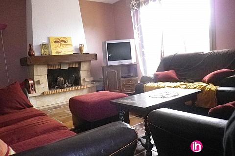 Location pour salarié en déplacement de meublé : Au coeur de la Drome,  des Collines,  Maison 5 chambres, Grand Serre