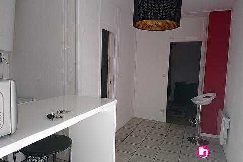 Location pour salarié en déplacement de meublé : GIEN T1 avec chambre séparée