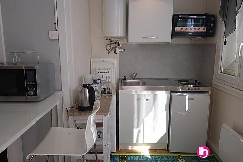 Location pour salarié en déplacement de meublé : Gien T1 (A BIS) en rdc avec chambre séparée