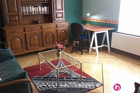 Location de meublé : CATTENOM THIONVILLE SEREMANGE FAMECK Appartement T3 pour 2 chambres 1er étage 25 min