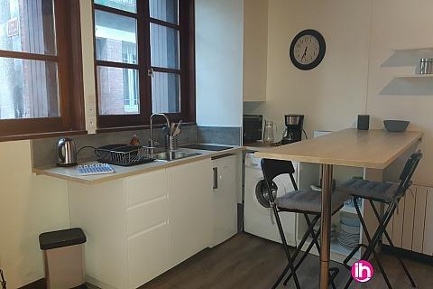 Location pour salarié en déplacement de meublé : TOURS, Studio entièrement rénové, plein centre ville, quartier des Halles