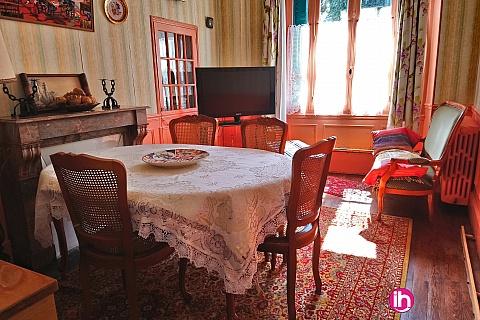 Location de meublé : DAMPIERRE EN BURLY MAISON 3 CHAMBRES