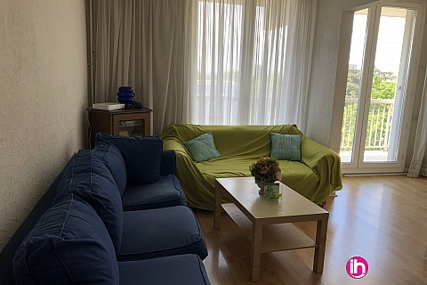 Location pour salarié en déplacement de meublé : 1 chambre en colocation, grand appartement à Vénissieux.