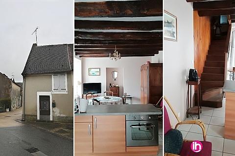 Location de meublé : Petite maison de charme dans le Sancerrois