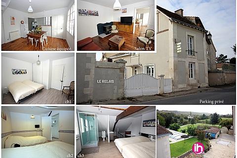 Location de meublé : CIVAUX BONNEUIL-MATOURS les3B-Le Relais
